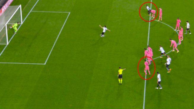 Carlos Soler empató el partido con 'el penalti más largo del mundo'