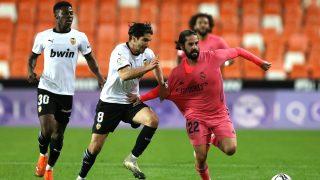 Isco volvió a suspender en Mestalla. (Getty)