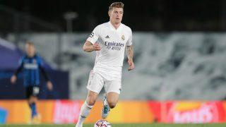 Toni Kroos, durante el partido ante el Inter de Milán (Getty).