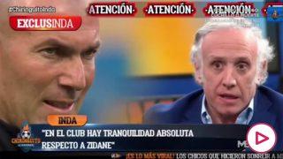 El futuro de Zidane no está en duda para la directiva del Real Madrid.
