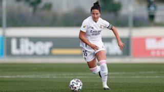 Ivana, en un partido del Real Madrid. (Realmadrid.com)