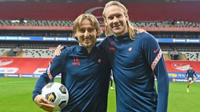 El Real Madrid, en vilo por Modric tras el positivo de un compañero de Croacia