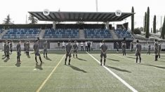 El Cadete A del Real Madrid, en un entrenamiento. (realmadrid.com)