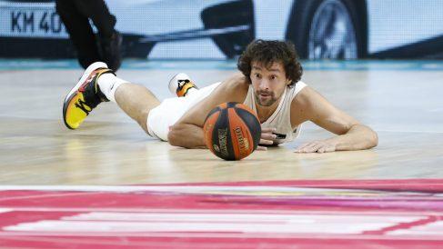Llull, en un partido con el Real Madrid. (Photo ACB)