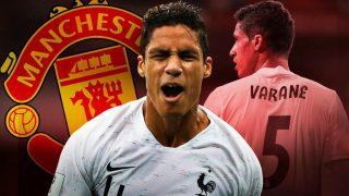 El Manchester United volverá este verano a por Varane.