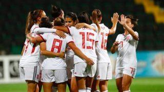 Selección española femenina. (@setfutbolfem)