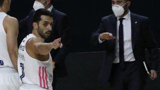 El Real Madrid venció a Fenerbahce en el Wizink. (EFE)