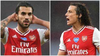 Dani Ceballos desmintió que David Luiz le agrediera en el entrenamiento del Arsenal.