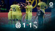 El Real Madrid no fue capaz de ganar en Villarreal.