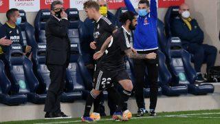 Isco sustituye a Odegaard en el Villarreal-Real Madrid. (Getty)