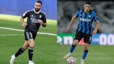 Dani Carvajal y Achraf protagonizarán uno de los duelos del Inter-Real Madrid.