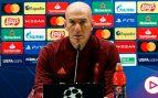 Zidane: «En momentos complicados se sufre, no soy fatalista»