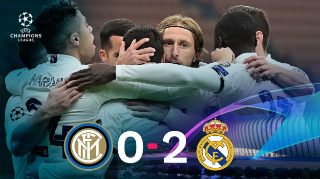 Inter – Real Madrid: una noche de 10