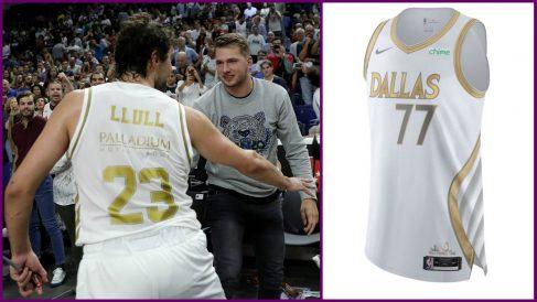 Dallas diseña para Doncic su camiseta más madridista.
