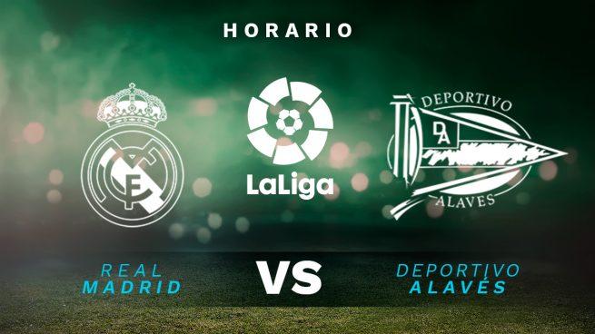 Horario Real Madrid Alavés