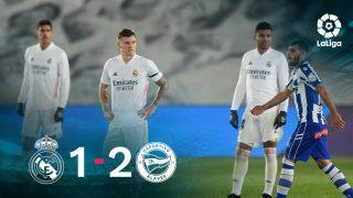 El Real Madrid cayó ante el Alavés en el Di Stéfano.