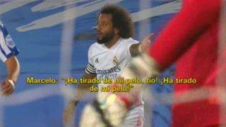 Marcelo protesta a Cordero Vega.