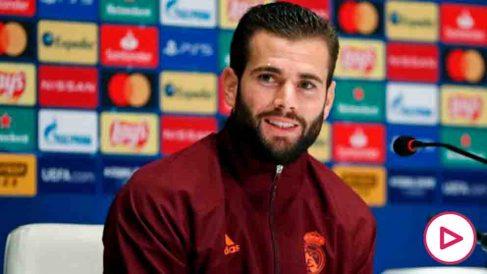 Nacho, durante una rueda de prensa. (Realmadrid.com)