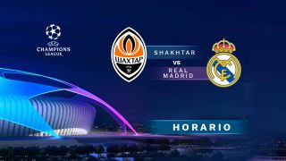 Shakhtar – Real Madrid: partido de la fase de grupos de la Champions League.
