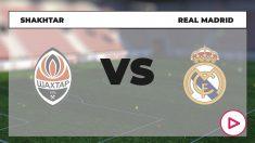 Shakhtar – Real Madrid: partido de la Champions League.