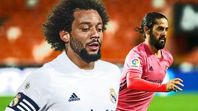 El Real Madrid no ha recibido ninguna oferta por Isco… ni por Marcelo
