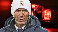 Zidane, muy cuestionado en el banquillo del Real Madrid.