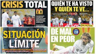 La prensa deportiva estalla contra el Madrid.