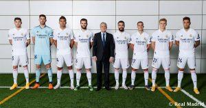 El Real Madrid se hace la foto oficial de la temporada