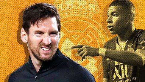 Messi puede ayudar al fichaje de Mbappé.
