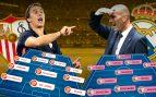 Sevilla – Real Madrid: Lopetegui amenaza a Zidane