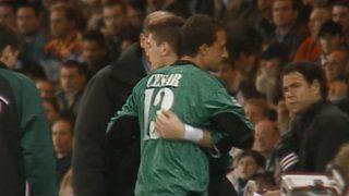 Iker Casillas y César Sánchez.
