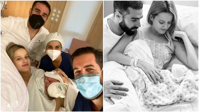 Dani Carvajal y Daphne Cañizares ya son padres de su primer hijo, Martín.