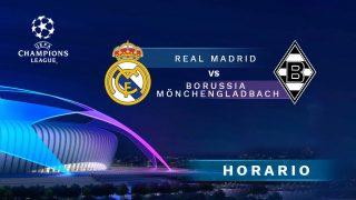 Real Madrid – Borussia Mönchegladbach: partido de la jornada 6 de la Champions League.