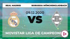 Real Madrid – Borussia Mönchengladbach: partido de la Champions League en directo.