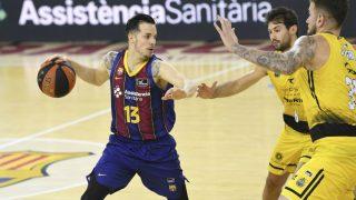 Heurtel, en un partido con el Barcelona. (ACB)