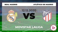 Liga Santander 2020-2021: Real Madrid – Atlético de Madrid | Hora y cómo ver por televisión el partido de la Liga Santander.