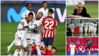 Los siete días que cambiaron la temporada del Madrid. (Getty y EFE)
