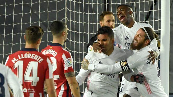 El Real Madrid vuelve a mandar en la capital