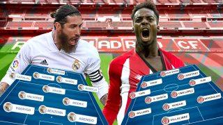Real Madrid y Athletic Club se enfrentan en el Di Stéfano.
