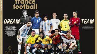 El mejor once de la historia de France Football. (France Football)