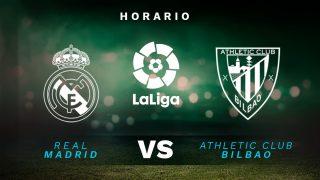 Liga Santander 2020-2021: Real Madrid – Athletic Club  Horario del partido de fútbol de la Liga Santander.