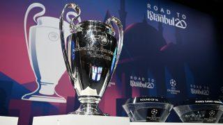 El trofeo de la Champions League. (AFP)