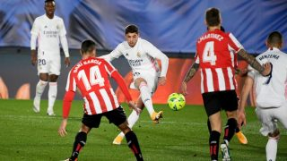 Fede Valverde volvió a la titularidad en el Real Madrid. (AFP)