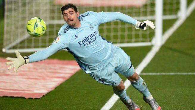 El muro de Courtois ya le ha dado 10 puntos al Madrid en Liga