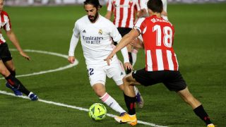 Isco, durante el partido ante el Athletic Club (EFE)