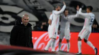 Zidane, en el partido contra el Athletic Club.