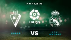 Liga Santander 2020-2021: Eibar – Real Madrid| Horario del partido de fútbol de la Liga Santander.
