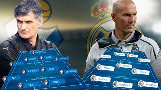 Eibar y Real Madrid se enfrentan en Ipurúa.