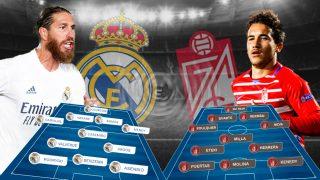 Real Madrid y Granada se enfrentan en el Di Stéfano.