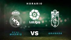 Liga Santander 2020-2021: Real Madrid – Granada  Horario del partido de fútbol de la Liga Santander.